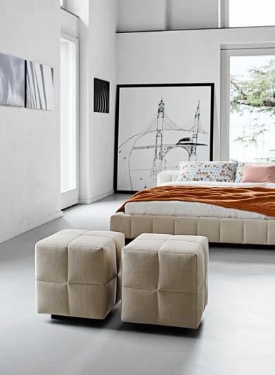 dormitorio tapizado de diseño bonaldo dimode.es
